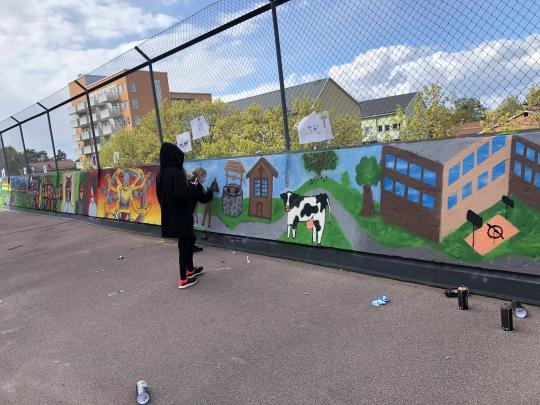 IESJ Grafitty Project VT 2019
